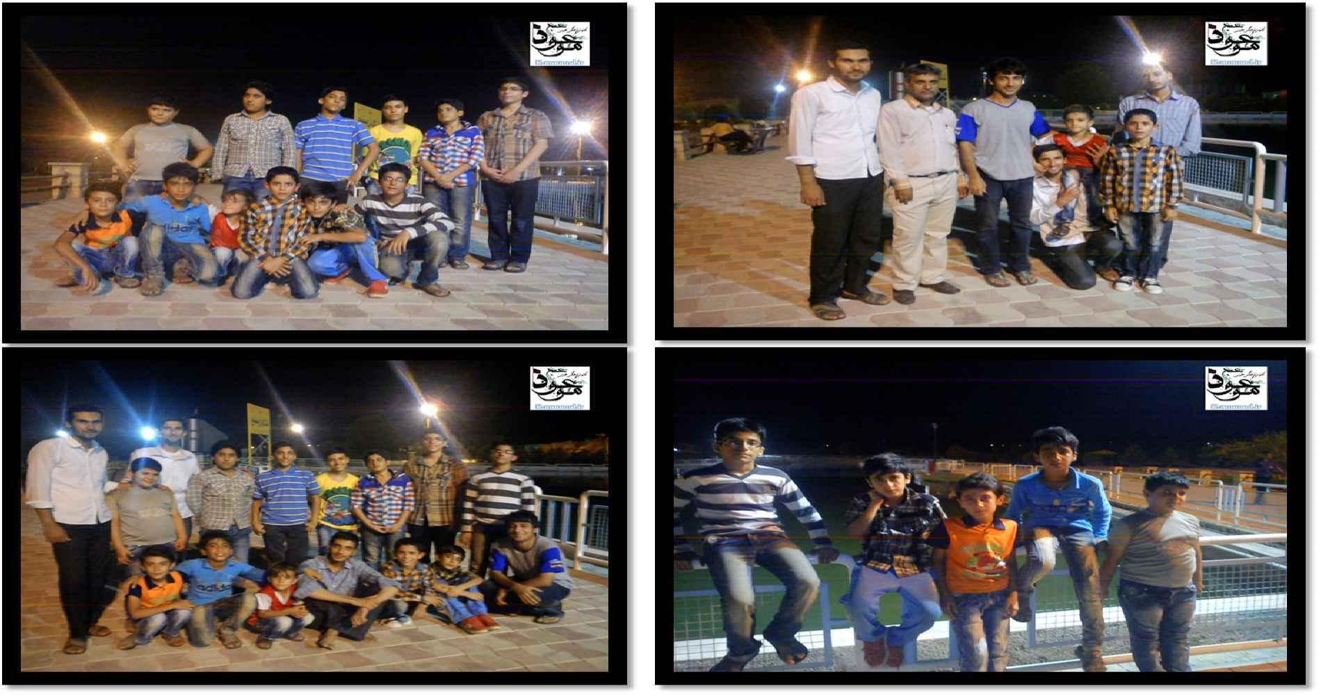 پارک مفتون به همراه بچه های مسجد