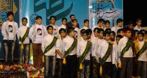 بچه های کانون موعود در گروه سرود ثارالله