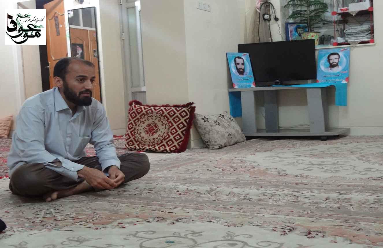 دیدار با خانواده شهید فقیه 1394