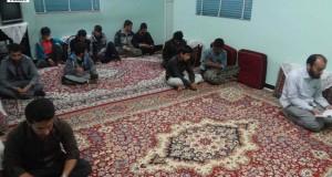 دیدار با خانواده شهید نظامی بهمن 94