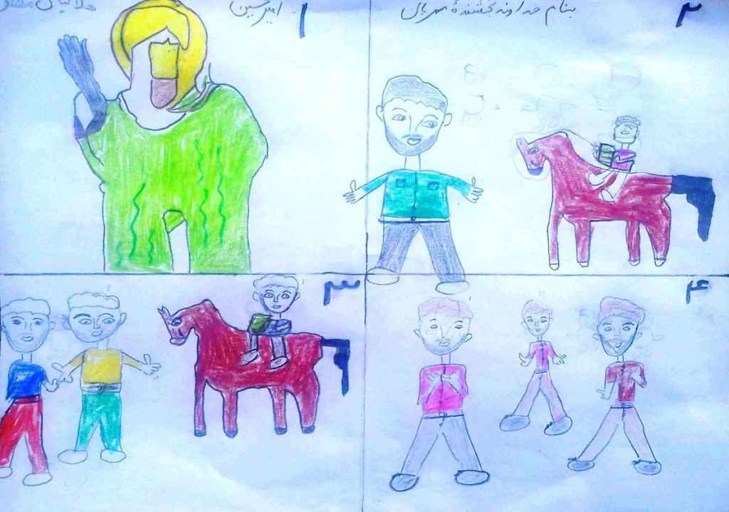 نقاشی داستان حضرت یوسف (علیه السلام)