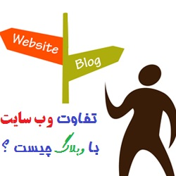 Image result for ‫تفاوت وب و سایت‬‎