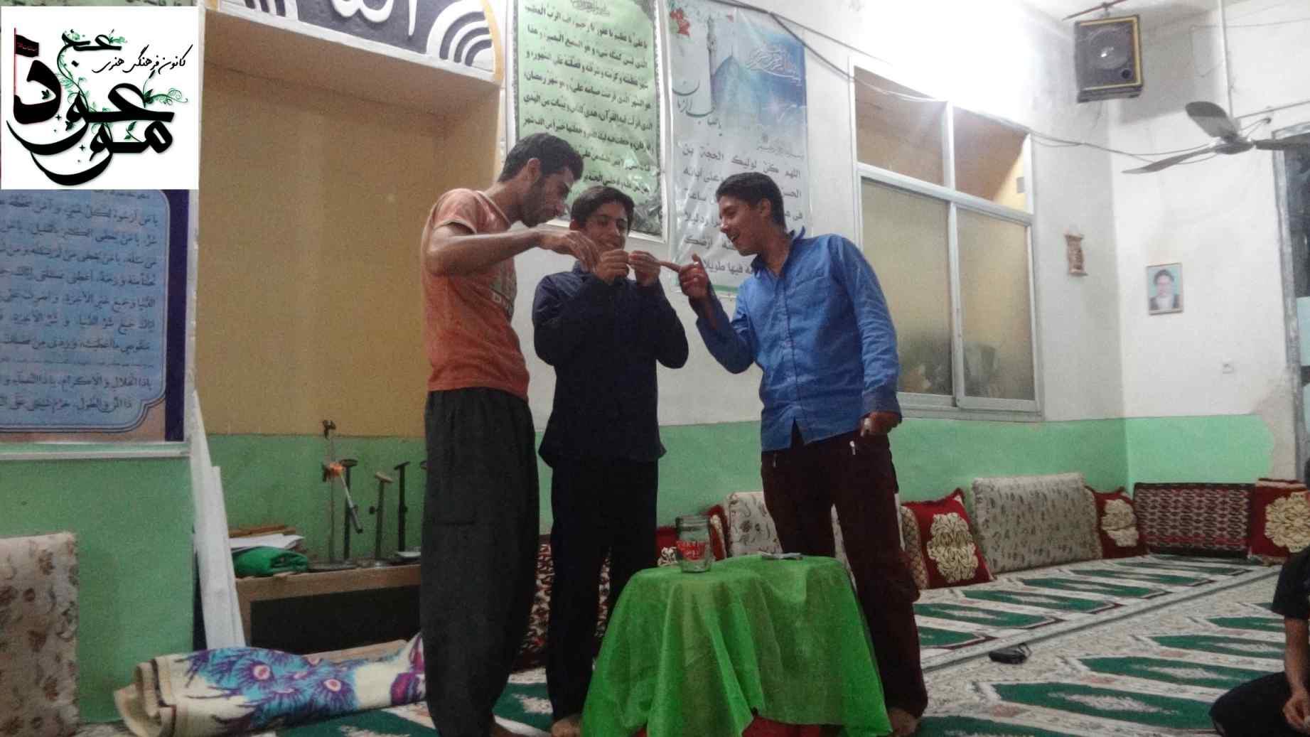 قرعه کشی مسابقات تابلو اعلانات مسجد