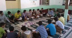 کلاس قرآن در ماه رمضان